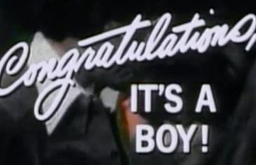 Congratulations – It's A Boy